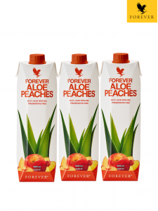 Tripack | Forever Aloe Peaches™ | Aloes z Brzoskwinią